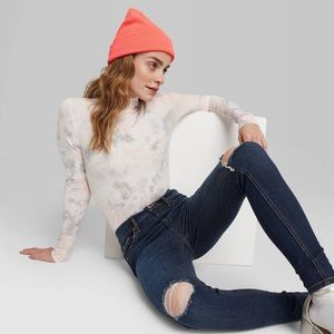 Wild Fable High-Rise Distressed Skinny Jeans